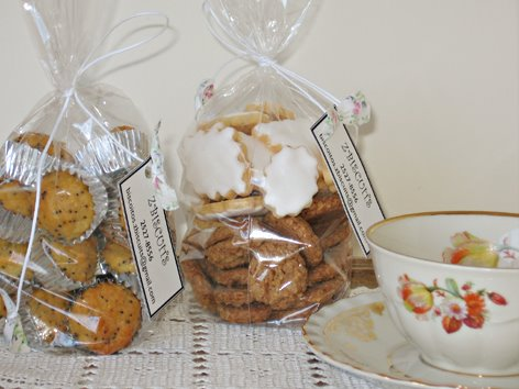 Biscoitos e Mini-Muffins