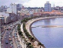Baía de Luanda   Luanda Bay