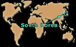 where korea is