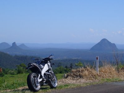 Good motorcycle roads Brisbane - Bald Knob