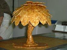 ヌガティーヌで作ったプラタナス