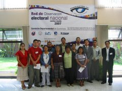 Mirador Electoral 2007 Inscribete!