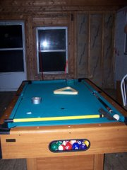 Finished Pool Table
