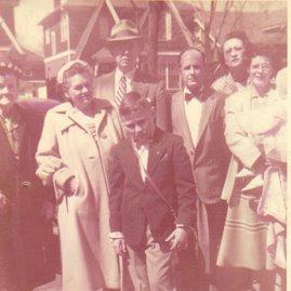 Family 1954 (I'm the baby)