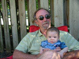 Karen's Godfather Jim w/Daniel