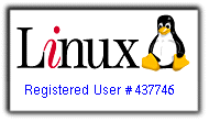Registered Linux user