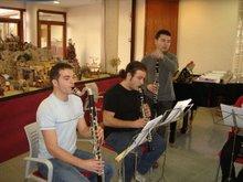 Ensayo quinteto de clarinetes