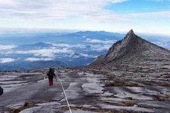 Mount Kinabalu summit in Sabah