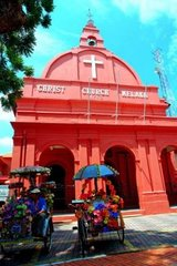 church in Historical Melaka