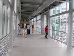 Inside the Petronas Twin Towers skybridge on level 41