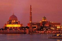 Putra Mosque at Putrajaya, Malaysia's administrative capital