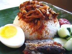 """Malay """"nasi lemak"""""""