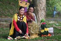 Bajau girls in Sabah