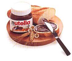 Pão com Nutella®