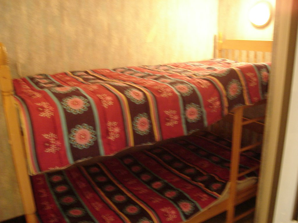 location coxyde chambre gauche petite chambre avec lits superpos s. Black Bedroom Furniture Sets. Home Design Ideas