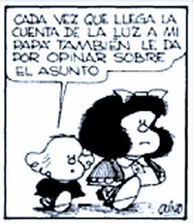 Veras y burlas: La Libertad de Mafalda