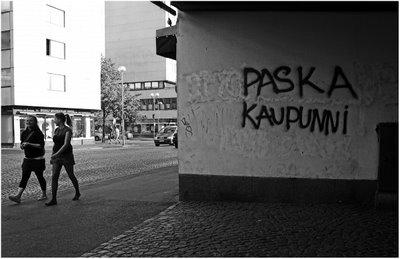 grafitti en oulu