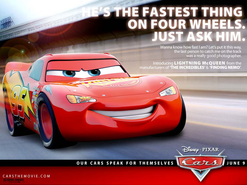 Wrest and Relax: PIXAR'S CARS