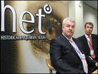 Dave Cox and Phillip James of the HET (C) BBC