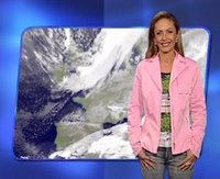 Jeannette Eggenschwiler forecasting before she was pregnant