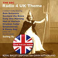 Album art for UK Theme single release