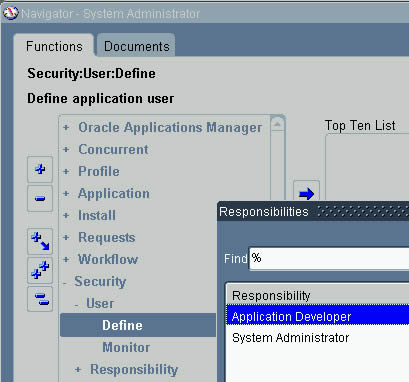 Oracle Applications: