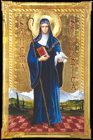 Image result for free pictures ofSt. Scholastica