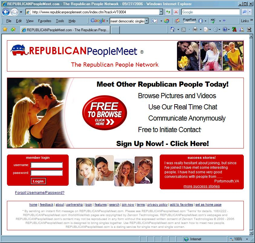 Republican singles dating