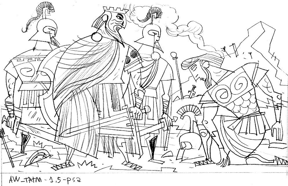 coloring pages cornelius peter - photo#22