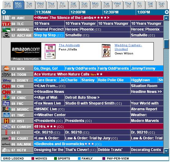 cartoon network channel tv guide fandifavicom