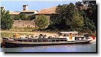 For Sale French canal hotel barge
