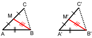 Prove that these two triangles are congruent
