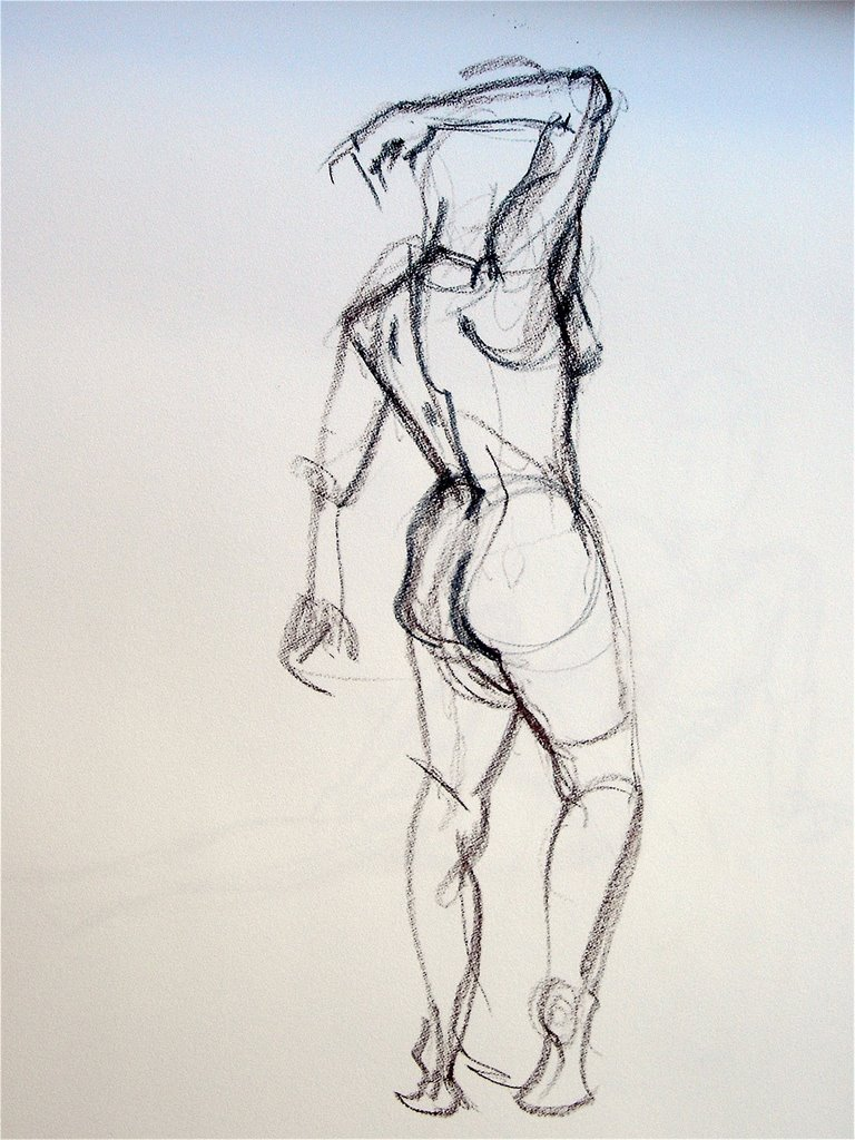 Lois's Art Blog: Figure Drawing 6- 5 and 10 minute poses