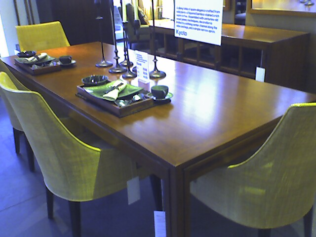 Treough Kyoto Dining Table From Crate And Barrel