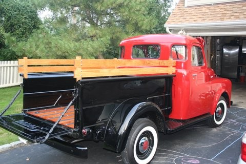 Photos Of Wooden Bed Side Rails Wanted Mopar Flathead
