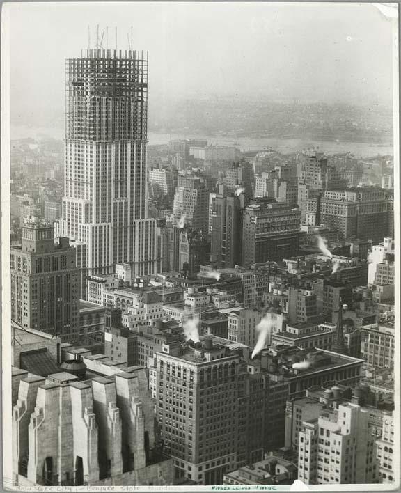 new york history geschichte bau des empire state buildings. Black Bedroom Furniture Sets. Home Design Ideas