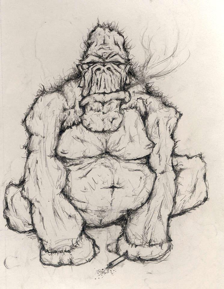 Angry Gorilla Drawing - photo#7