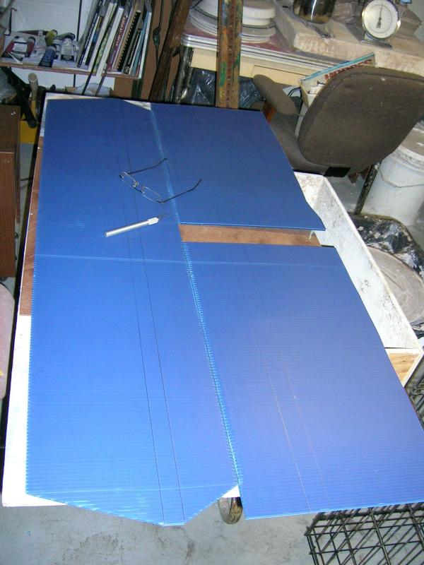 SPAD Builder: Blue Devil is coming along   wing work