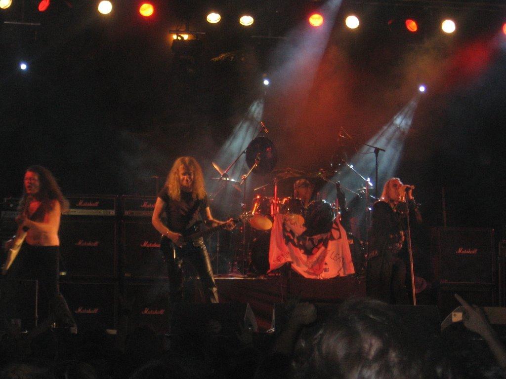 Qué Ruina Granito Rock 2006 Saxon Grande Cojonas