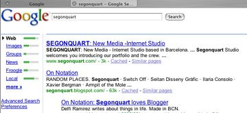 Segonquart Studio at Google