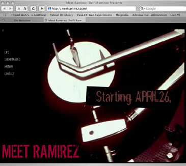 Delfi Ramirez presents MeetRamirez