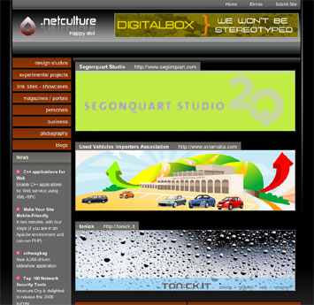 Segonquart Studio has been featured in .netCulture web directory