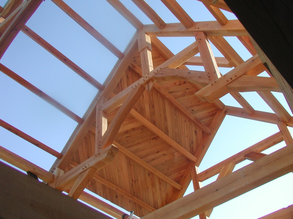 Building A Timberframe Home From Scratch Tongue And