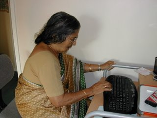 Mom and the PC