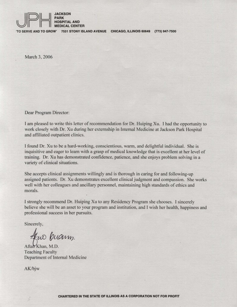 Letter of recommendation residency example romeondinez letter of recommendation residency example spiritdancerdesigns Choice Image