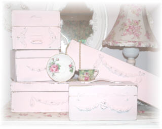 ~ Tons of Pink Boxes ~