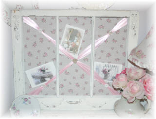 ~ Shabby Romantic Bulletin Boards ~