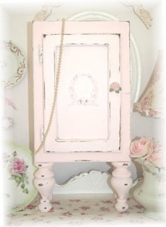 ~ Rose Drawer Pull Cabinet ~