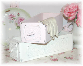 ~ Vintage Sewing Machine Drawers ~