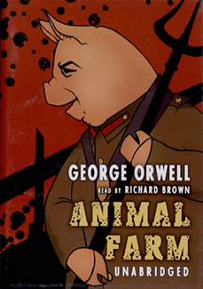An analysis of the soviet history in animal farm by george orwell